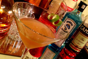 Black Peppercorn Gimlet