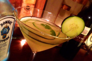 SpiraLife Cucumber Mint Gimlet