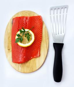 Fish Spatula & Salmon