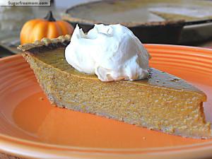 Healthier Pumpkin Pie with Whole Wheat Crust