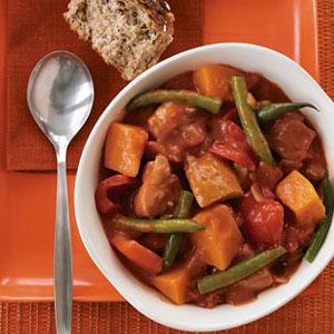 Chicken Pumpkin Stew