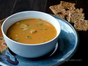 7-Spice Pumpkin Turkey Soup
