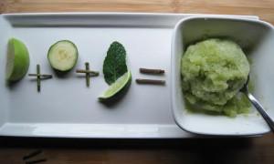 Cucumber Apple Sorbet