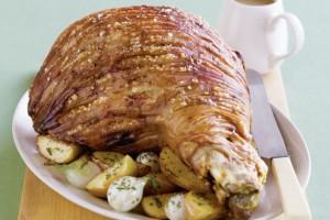 Roast Pork with Apple