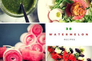 30 Healthy Watermelon Recipes PLUS 6 Fun Watermelon Crafts