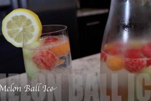 VIDEO: Melon Ball Ice
