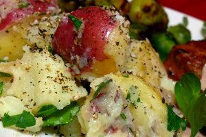 Salt and Pepper Parsley Potatoes