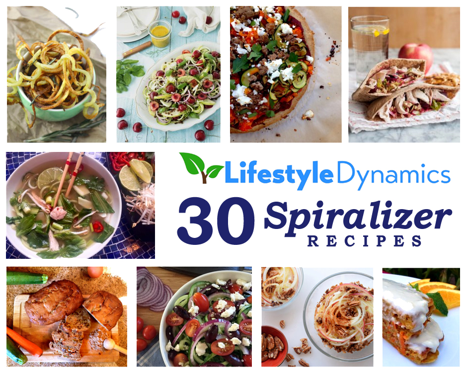 30 Healthy Spiralizer Recipes