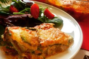 Delicious Zucchini Lasagna (Gluten-Free, Paleo Optional)