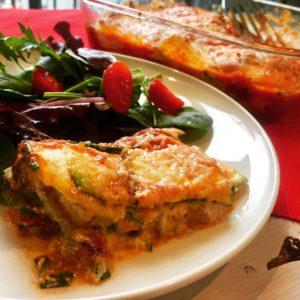 Gluten-Free Zucchini Lasagna