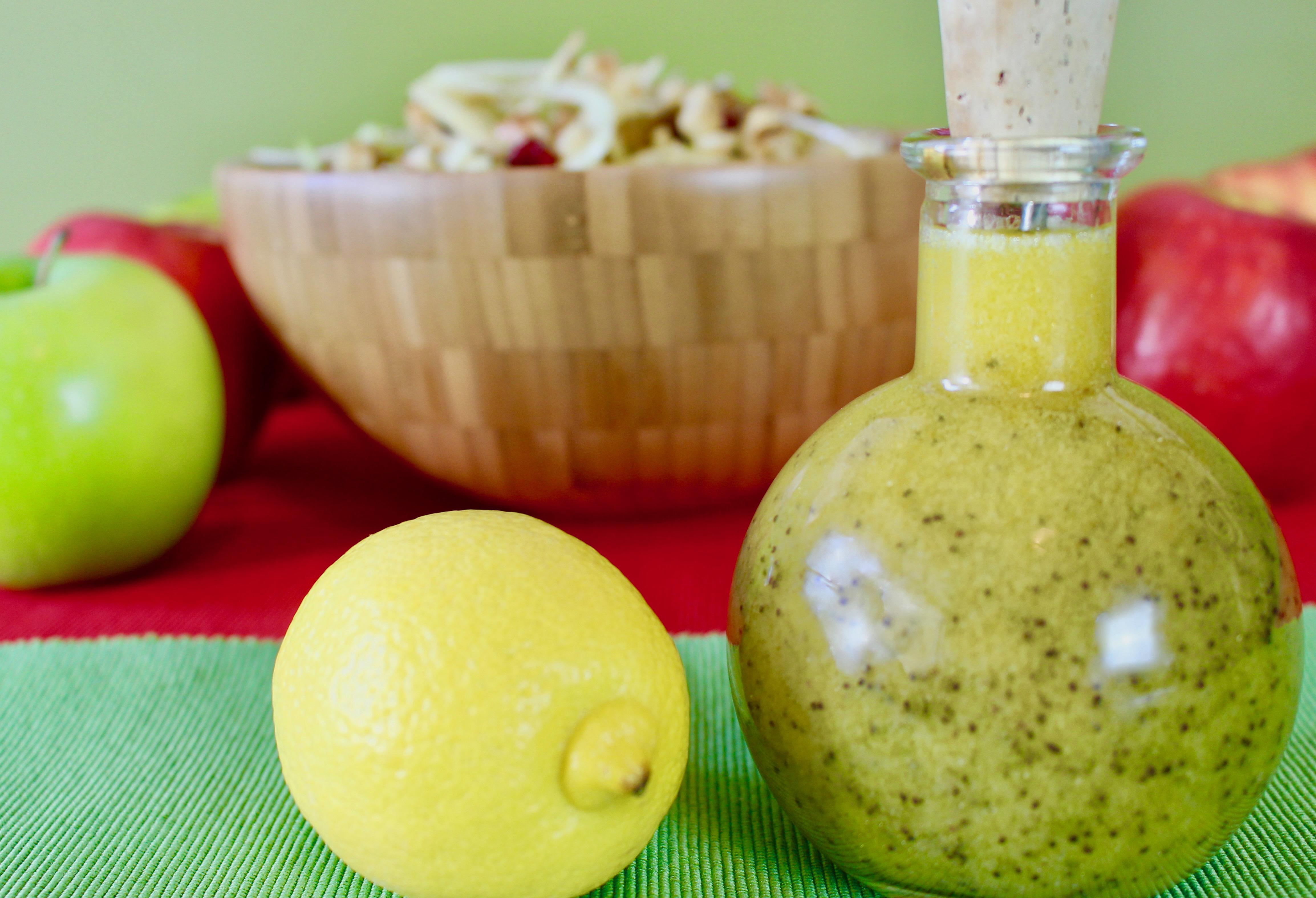Lemon Poppy Seed Dressing