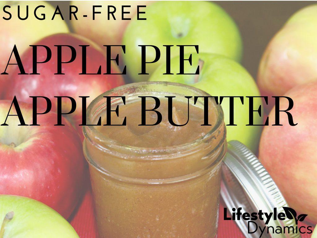 Sugar-free Apple Pie Apple Butter